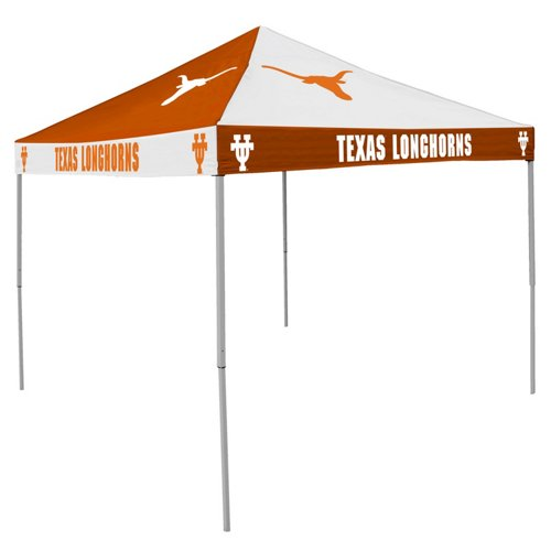 Logo University of Texas Straight-Leg 9 ft x 9 ft Checkerboard Tent