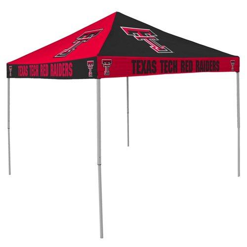 Logo Texas Tech University Straight-Leg 9 ft x 9 ft Checkerboard Tent
