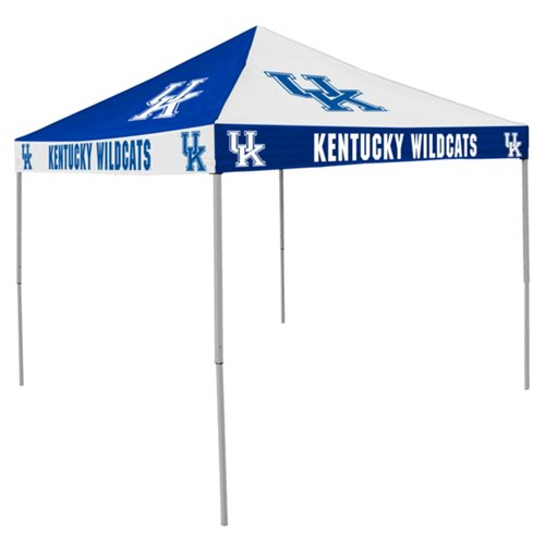Logo University of Kentucky Straight-Leg 9 ft x 9 ft Checkerboard Tent