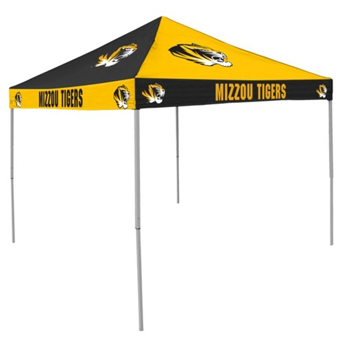 Logo University of Missouri Straight-Leg 9 ft x 9 ft Checkerboard Tent