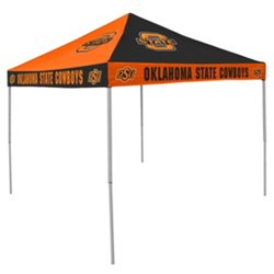 Logo Oklahoma State University Straight-Leg 9 ft x 9 ft Checkerboard Tent