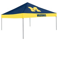 Logo University of Michigan Straight-Leg 9 ft x 9 ft Economy Tent