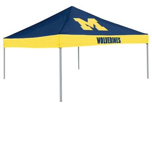 Logo University of Michigan Straight-Leg 9 ft x 9 ft Economy Tent