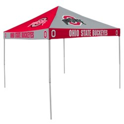 Logo Ohio State University Straight-Leg 9 ft x 9 ft Checkerboard Tent
