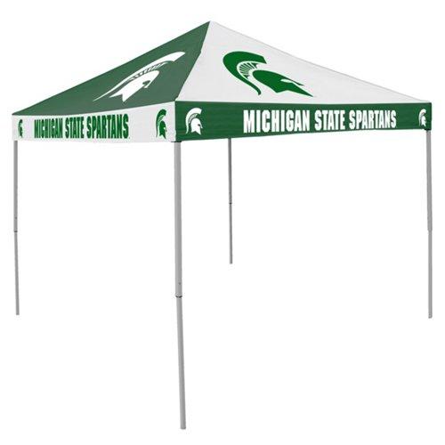 Logo Michigan State University Straight-Leg 9 ft x 9 ft Checkerboard Tent