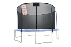 Upper Bounce® 15' Replacement Net with Top Ring Enclosure System for 5-Pole Trampoline