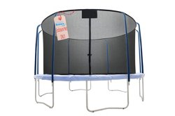 Upper Bounce® 15' Replacement Net with Top Ring Enclosure System for 8-Pole Trampoline