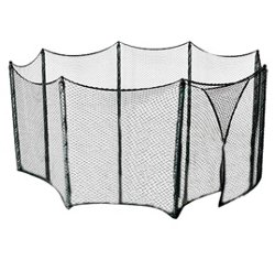Upper Bounce® Universal Trampoline Net for 13' - 16' Frames with Straight-Pole Enclosur