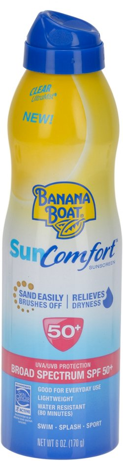 Banana Boat® SunComfort 6 oz. Ultra Mist SPF 50+ Clear Spray