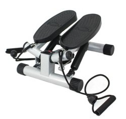 Sunny Health & Fitness No. 068 Twisting Stair Stepper with Bands