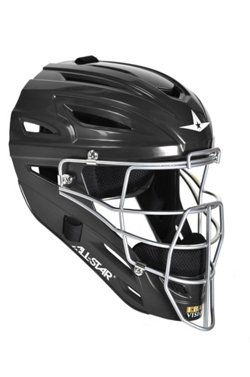 All-Star® Adults' System Seven™ Solid Molded Catching Helmet