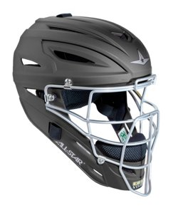 All-Star® Adults' System Seven™ MVP2500 Matte Painted Catcher's Helmet