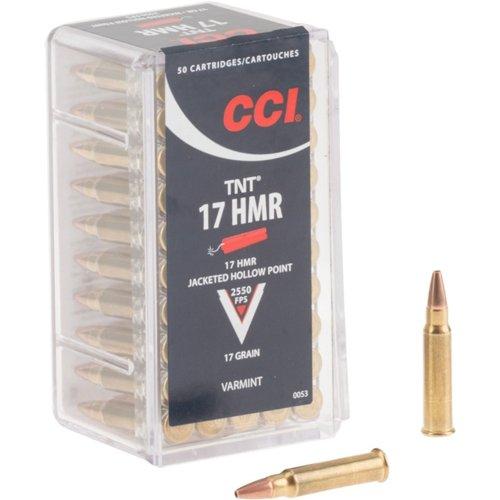 Hornady TNT® JHP .17 HMR 17-Grain Rimfire Ammunition