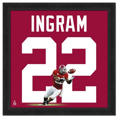 1707c103f1d ... File University of Alabama Mark Ingram #22 UniFrame 20
