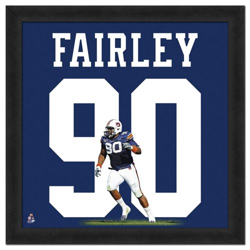 59f79e8dcd6 Photo File Auburn University Nick Fairley #90 UniFrame 20