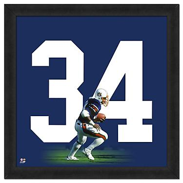 new concept fe420 3bb2b Photo File Auburn University Bo Jackson #34 UniFrame 20
