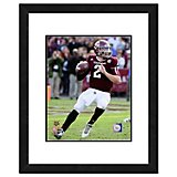 "Photo File Texas A&M University Johnny Manziel 11"" x 14"" Double Matted and Framed Action Photo"