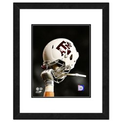 "Photo File Texas A&M University Helmet Spotlight 11"" x 14"" Double Matted and Framed Photo"