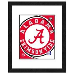 """Photo File University of Alabama 8"""" x 10"""" Team Logo Photo"""