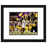 "Photo File Louisiana State University 11"" x 14"" Double Matted and Framed Mascot Photo"