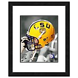 "Photo File Louisiana State University 11"" x 14"" Double Matted and Framed Helmet Photo"