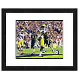"Photo File Louisiana State University Patrick Peterson 11"" x 14"" Double Matted and Framed Action Pho"