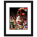 "Photo File Louisiana State University Shaquille O'Neal 11"" x 14"" Double Matted and Framed Action Pho"