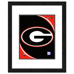 "Photo File University of Georgia 11"" x 14"" Double Matted and Framed Team Logo Photo"