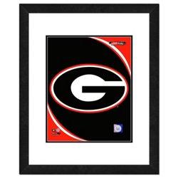 """Photo File University of Georgia 8"""" x 10"""" Team Logo Photo"""