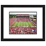 "Photo File University of Oklahoma Gaylord Family Oklahoma Memorial Stadium 11"" x 14"" Double Matted a"
