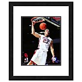 "Photo File University of Oklahoma Blake Griffin 11"" x 14"" Double Matted and Framed Action Photo"