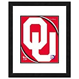"Photo File University of Oklahoma 11"" x 14"" Double Matted and Framed Team Logo Photo"