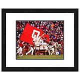 "Photo File University of Oklahoma Sooner Schooner 11"" x 14"" Double Matted and Framed Mascot Photo"