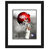 "Photo File University of Oklahoma 11"" x 14"" Double Matted and Framed Helmet Spotlight Photo"