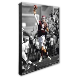 "Photo File Texas A&M University Johnny Manziel 20"" x 24"" Stretched Canvas Action Photo"