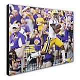 "Photo File Louisiana State University Odell Beckham, Jr. 20"" x 24"" Stretched Canvas Photo"