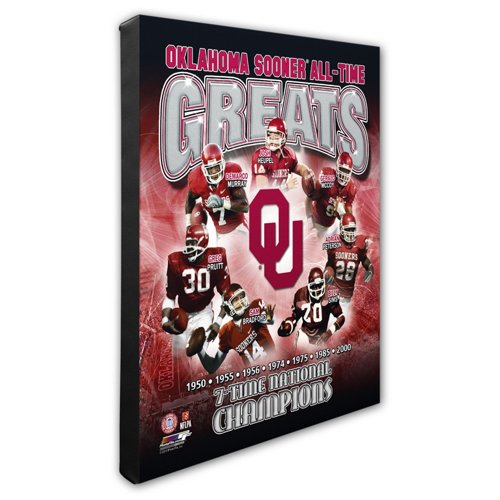 Photo File University of Oklahoma All-Time Greats 8' x 10' Composite Photo
