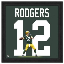 """Photo File Green Bay Packers Aaron Rodgers #12 UniFrame 20"""" x 20"""" Framed Photo"""