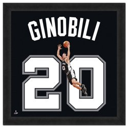"Photo File San Antonio Spurs Manu Ginobili #20 UniFrame 20"" x 20"" Framed Photo"