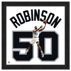 "Photo File San Antonio Spurs David Robinson #50 UniFrame 20"" x 20"" Framed Photo"