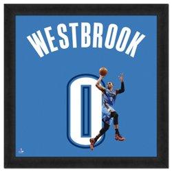 "Photo File Oklahoma City Thunder Russell Westbrook #0 UniFrame 20"" x 20"" Framed Photo"