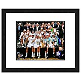 "Photo File San Antonio Spurs 11"" x 14"" Double Matted and Framed Celebration Photo"
