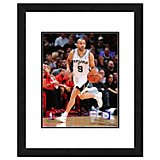 "Photo File San Antonio Spurs Tony Parker 11"" x 14"" Double Matted and Framed Playoff Action Photo"