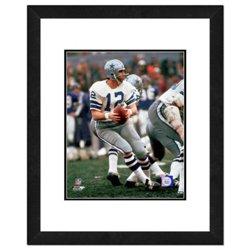 """Photo File Dallas Cowboys Roger Staubach 8"""" x 10"""" Action Photo"""
