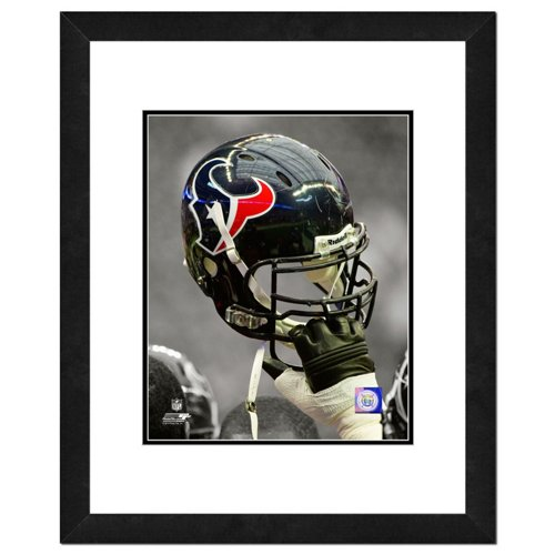 Photo File Houston Texans 8' x 10' Helmet Spotlight Photo