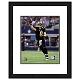 "Photo File New Orleans Saints Drew Brees 11"" x 14"" Double Matted and Framed Action Photo"