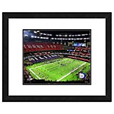 "Photo File New Orleans Saints Superdome 11"" x 14"" Double Matted and Framed Photo"