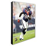 "Photo File Houston Texans Jadeveon Clowney 20"" x 24"" Stretched Canvas Action Photo"