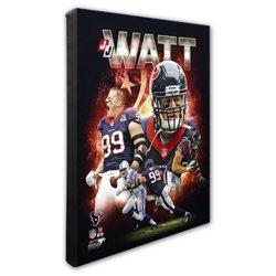 "Photo File Houston Texans J.J. Watt Portrait Plus 8"" x 10"" Photo"