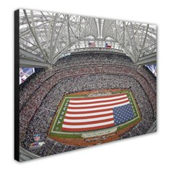 "Photo File Houston Texans Reliant Stadium 20"" x 24"" Stretched Canvas Photo"